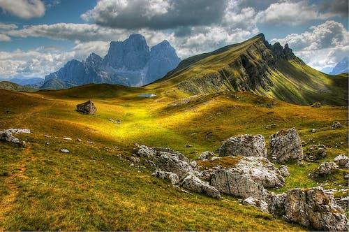 Gratis lagerfoto af alpin, bakke, bjerge, bjergtinde