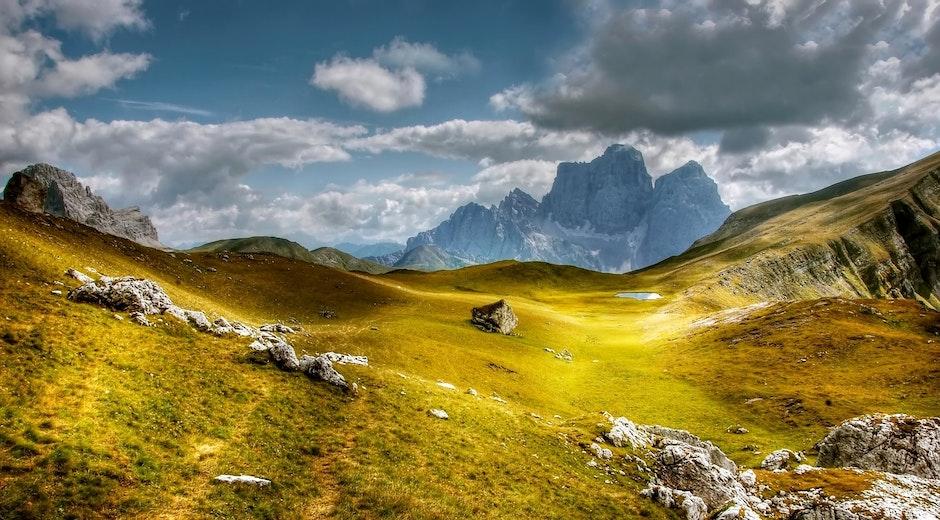 adventure, alpine, blue