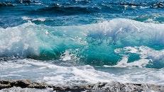 sea, beach, water