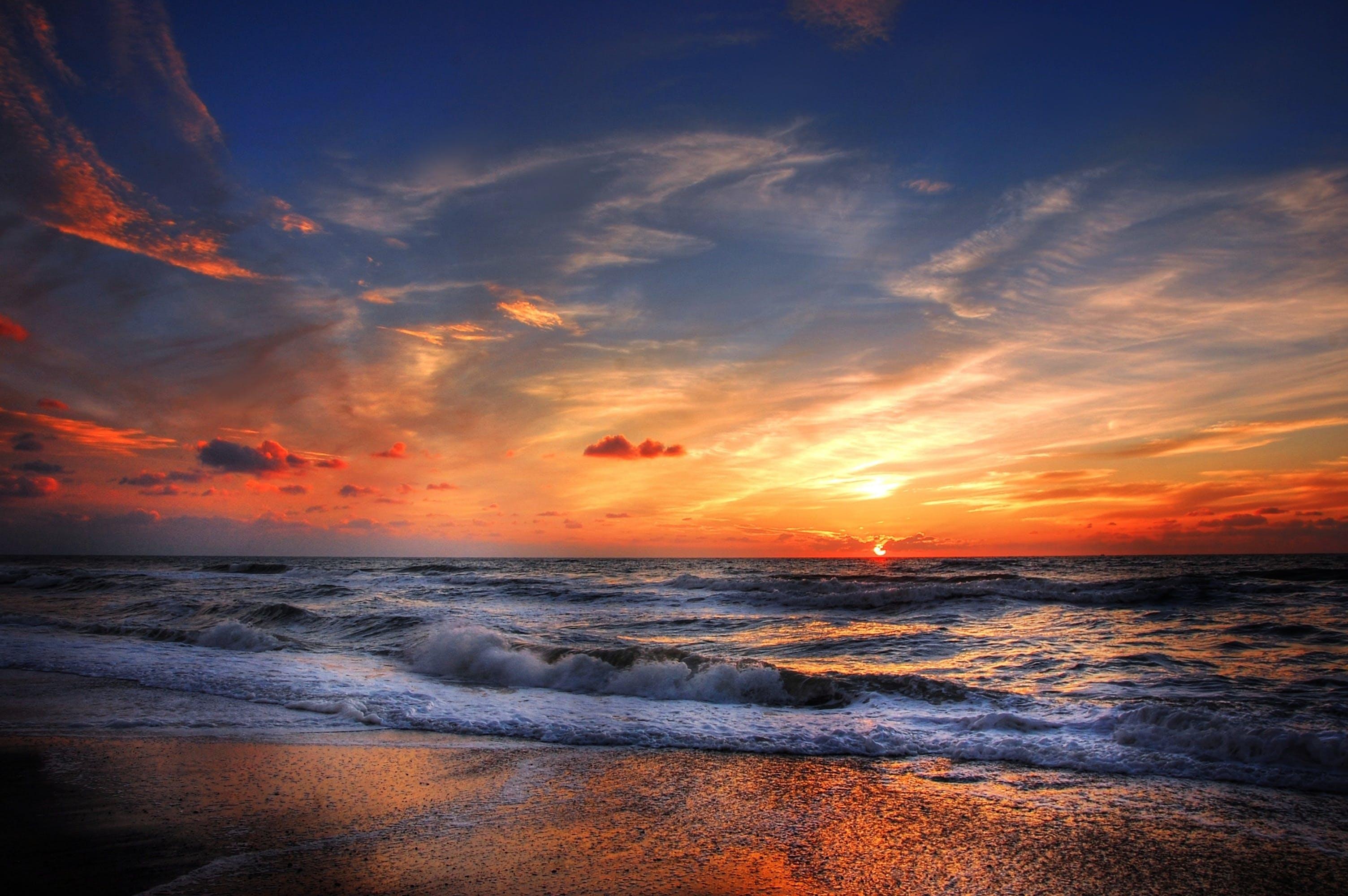 Ingyenes stockfotó Arany, ég, felhők, homok témában