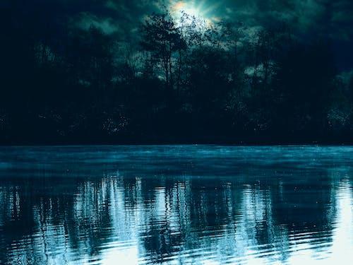 Fotobanka sbezplatnými fotkami na tému exteriéry, jazero, krajina