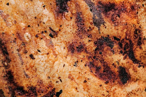 Close Up of Rusty Surface