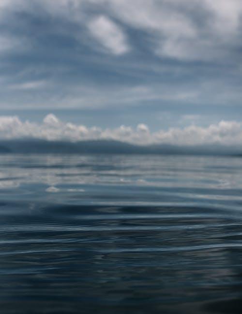 Free stock photo of blue lake, blue water