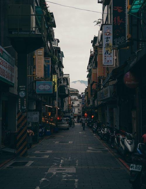 Free stock photo of big city, china town, city, moody