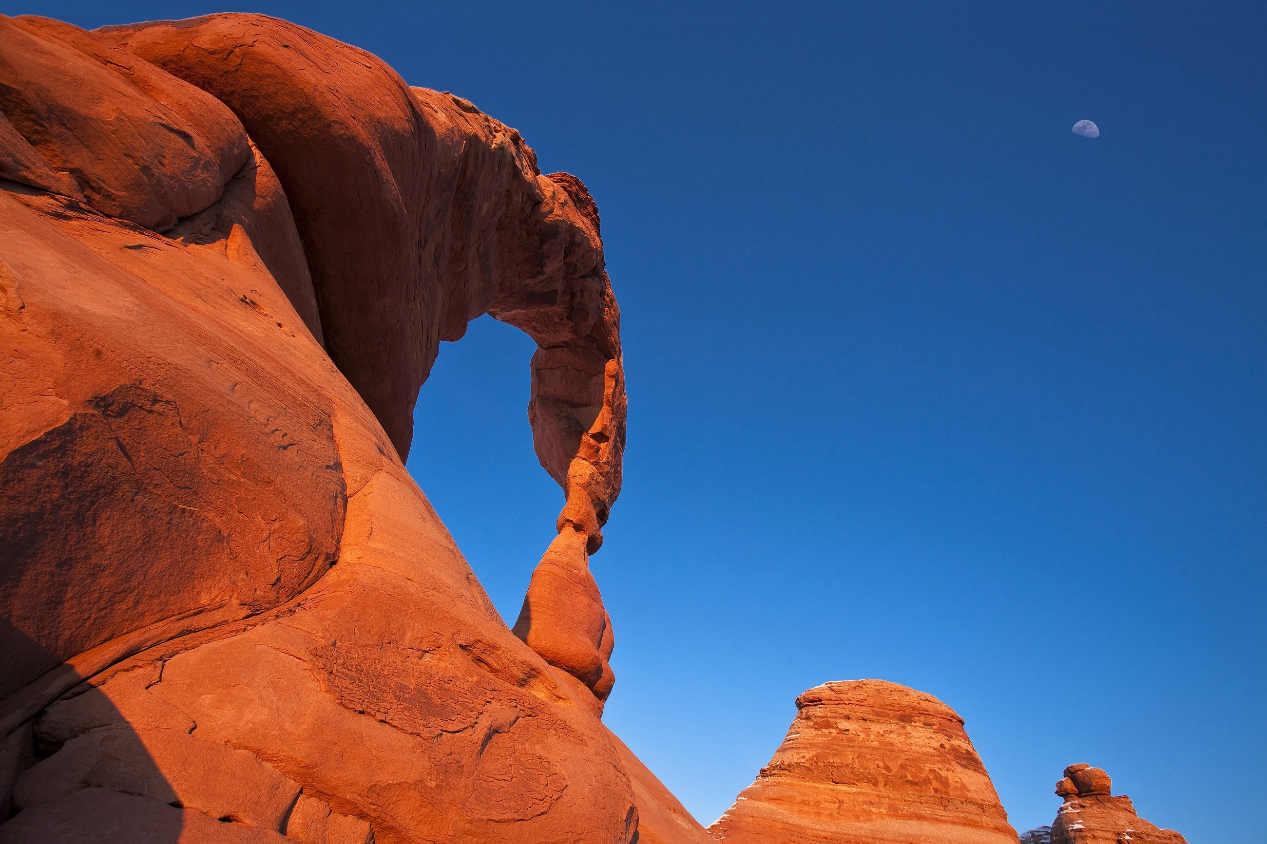 Free stock photo of arches national park, clouds, delicate arch, erosion