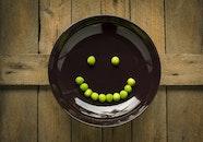 food, plate, wood