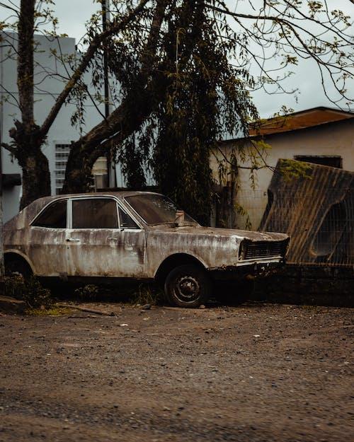 คลังภาพถ่ายฟรี ของ กรันจ์, กลางแจ้ง, ขนส่ง, ความเสียหาย