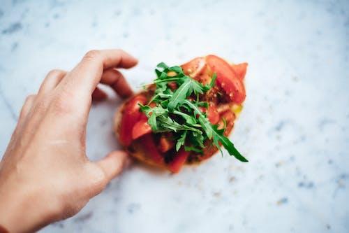 Photos gratuites de aliments, antipasto, basilic, brochettes de tomates