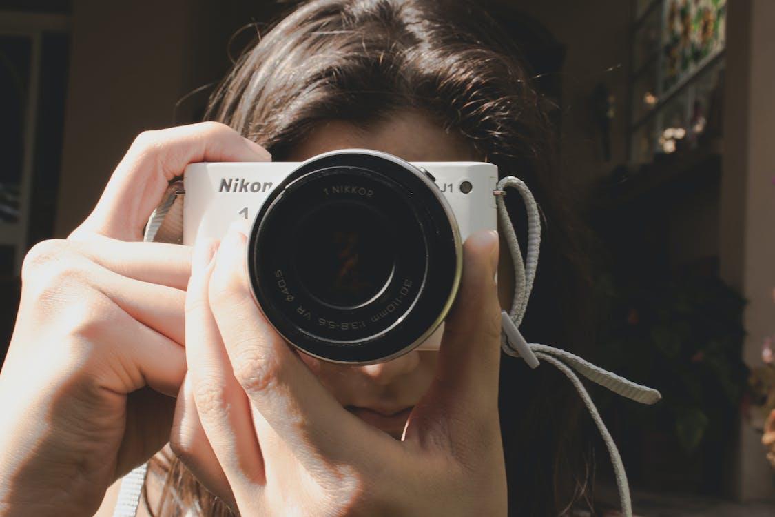Ilmainen kuvapankkikuva tunnisteilla edestä, kamera, nikon
