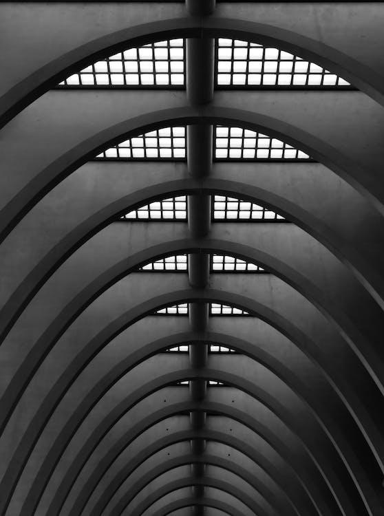 低角度拍攝, 圖案, 天花板