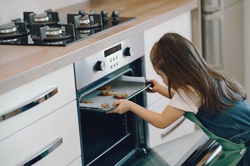 Photo of Girl Baking Cookies