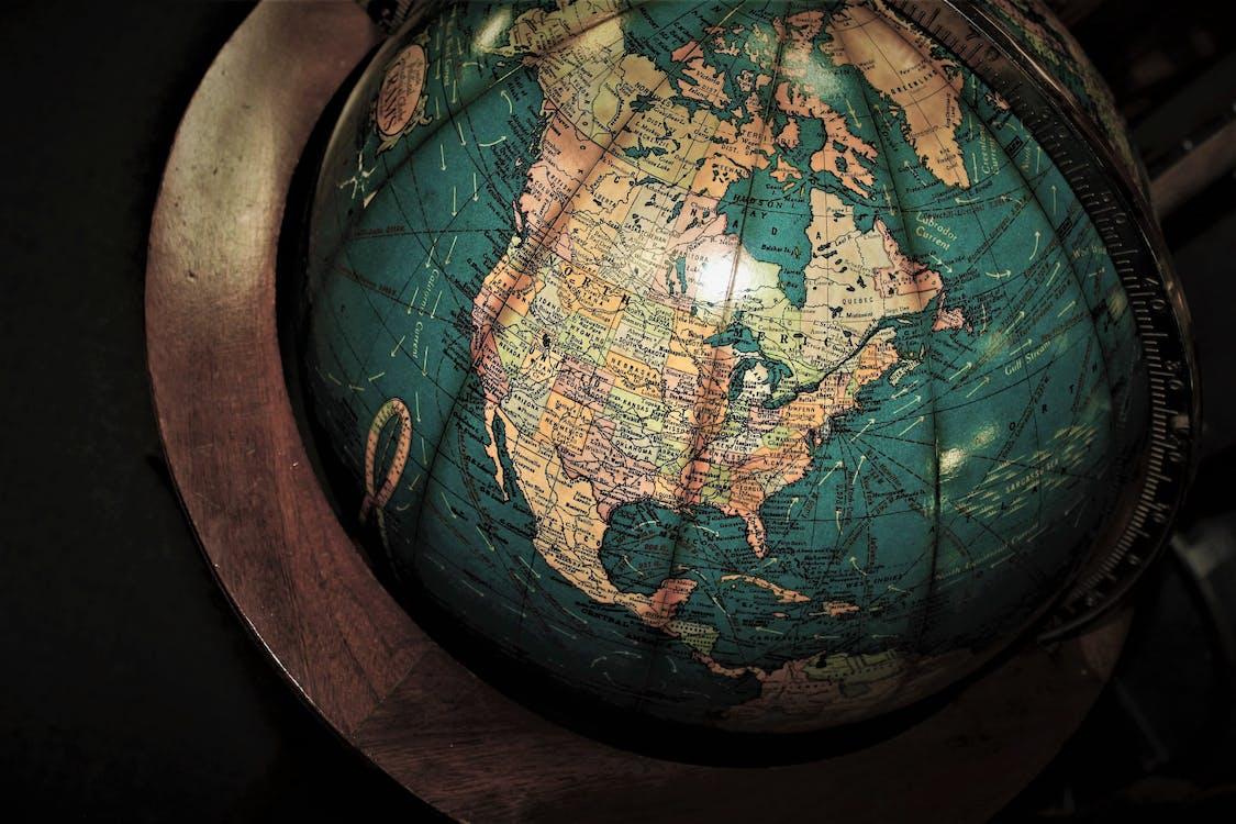Multicolored Desk Globe