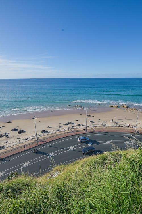 Free stock photo of beach, blue, corner