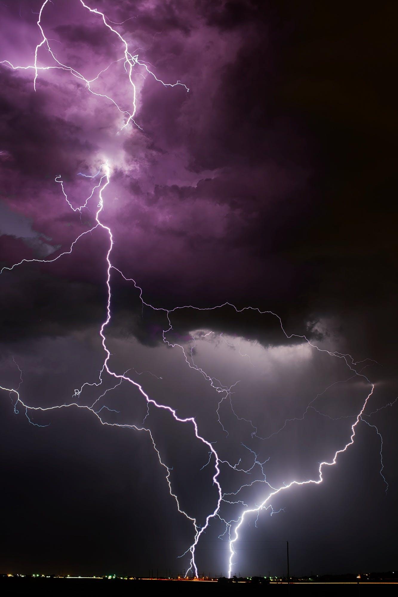 Free stock photo of nature, sky, night, weather