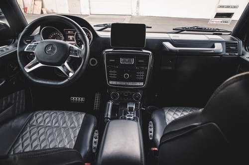 Black and Gray Car Interior