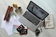 creative, apple, desk