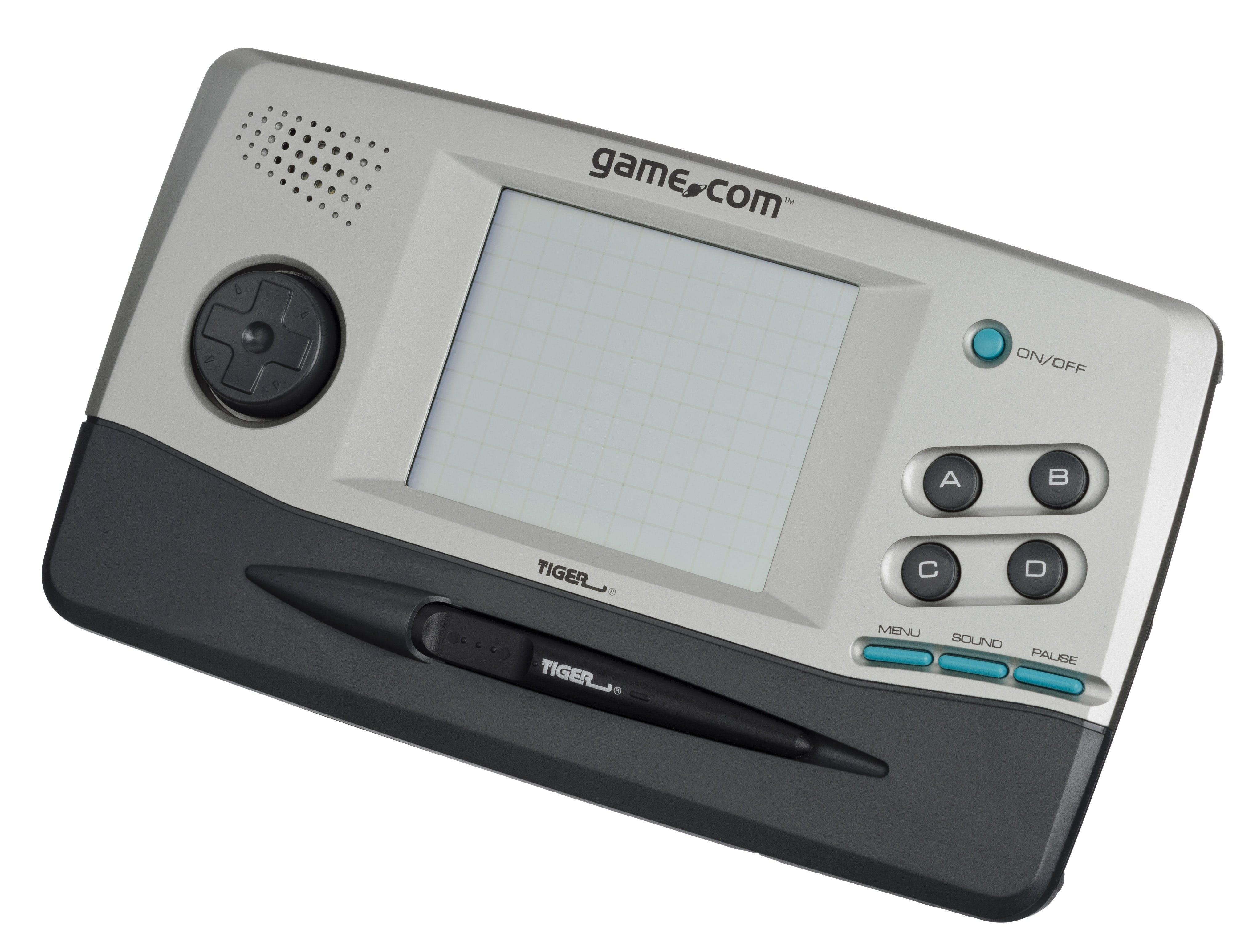 Gray and Black Game-com Console Clip Art