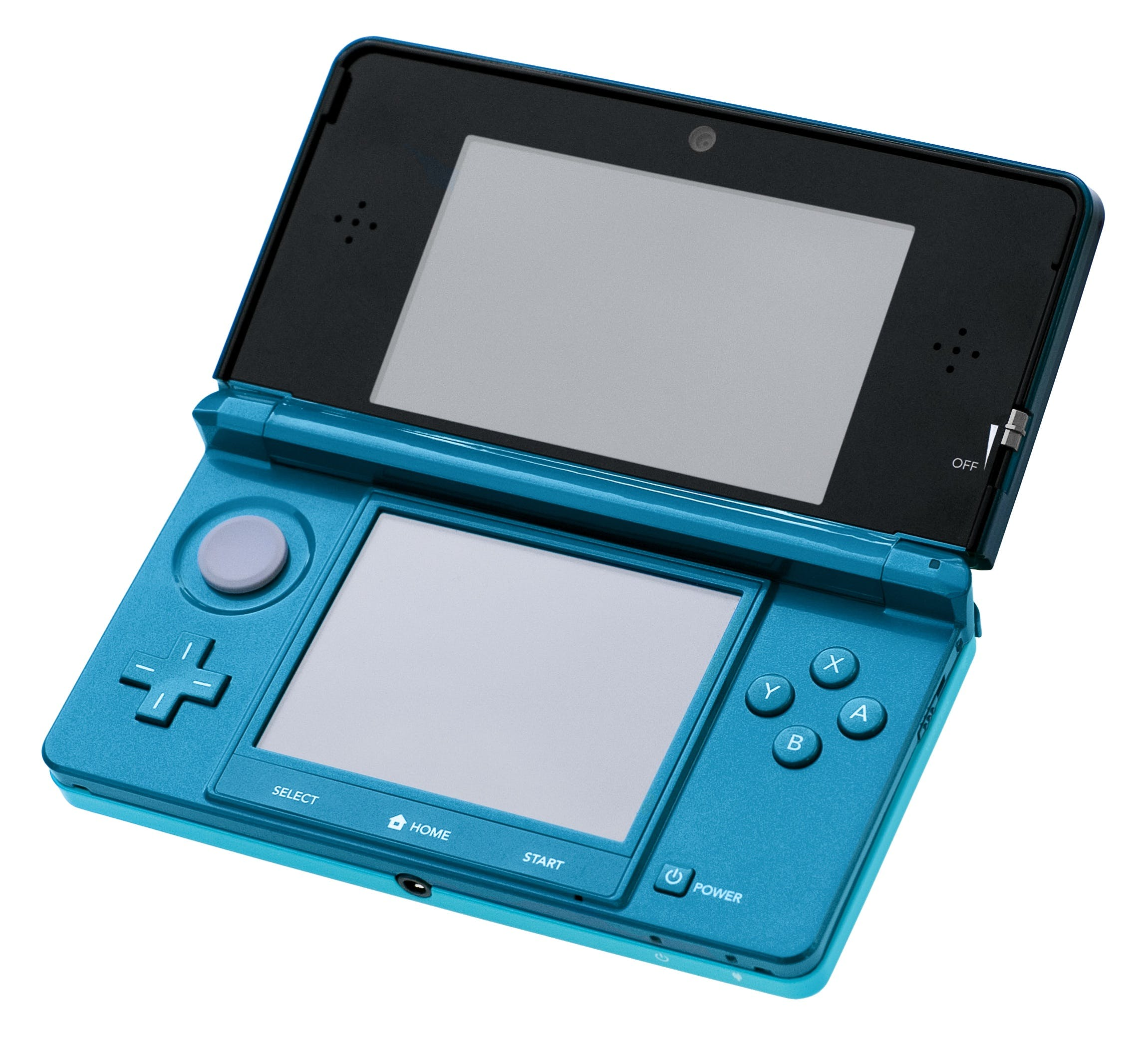 Blue and Black Nintendo Ds