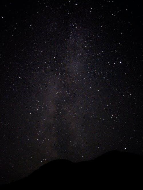 Free stock photo of galaxy, milky way, night