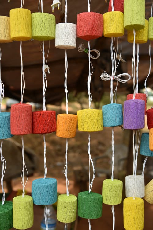 Free stock photo of arts and crafts, colorful lights, crafts