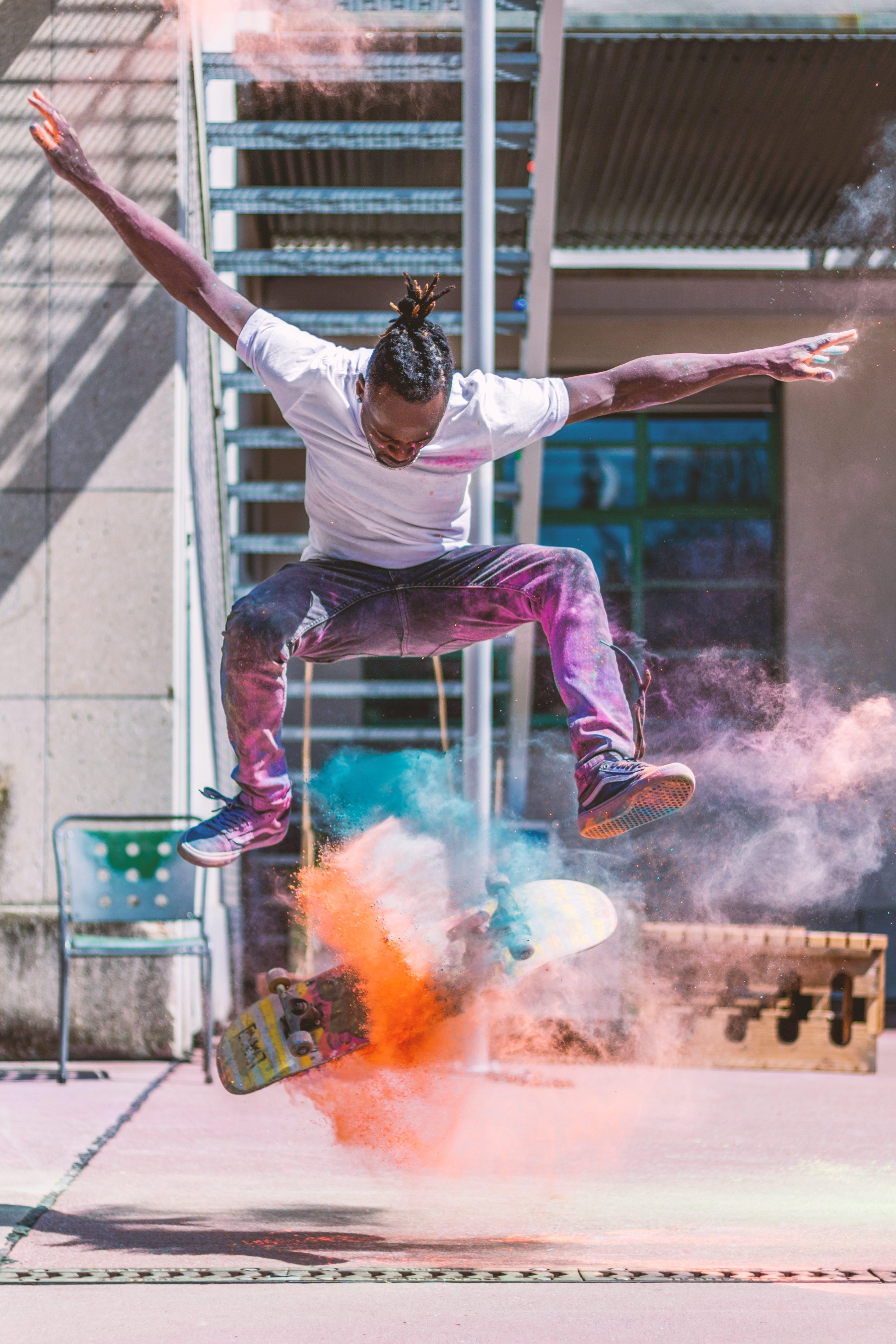 Darmowe zdjęcie z galerii z akcja, akrobacje, balansowanie, czas wolny