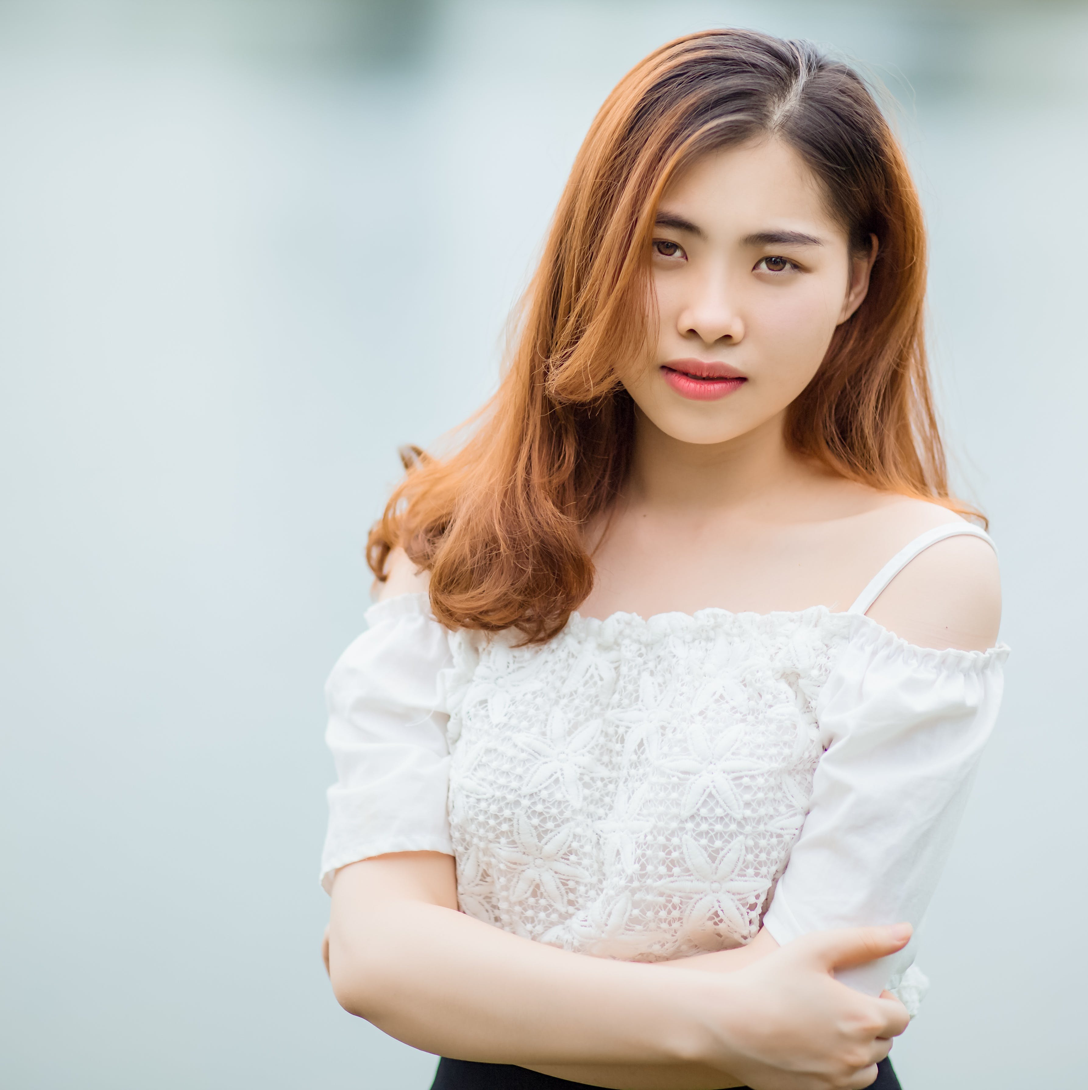 adolescent, Asian, attractive