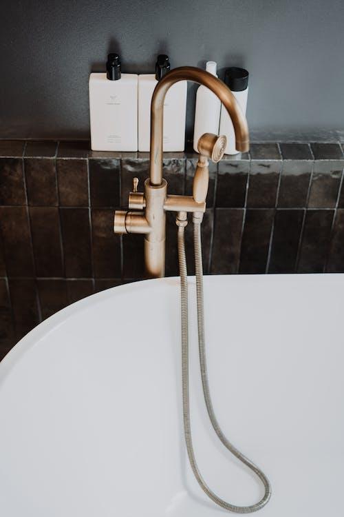 乾淨的浴室, 在家, 沐浴, 洗手液 的 免費圖庫相片