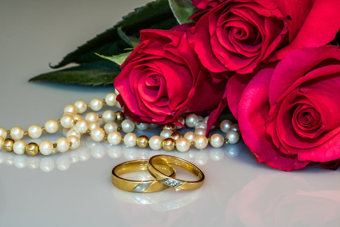 Two Gold-colored Rings