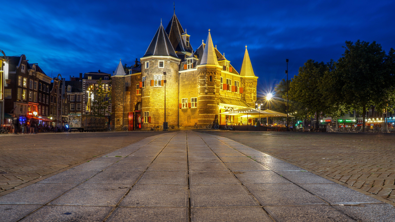 amsterdam, architecture, building