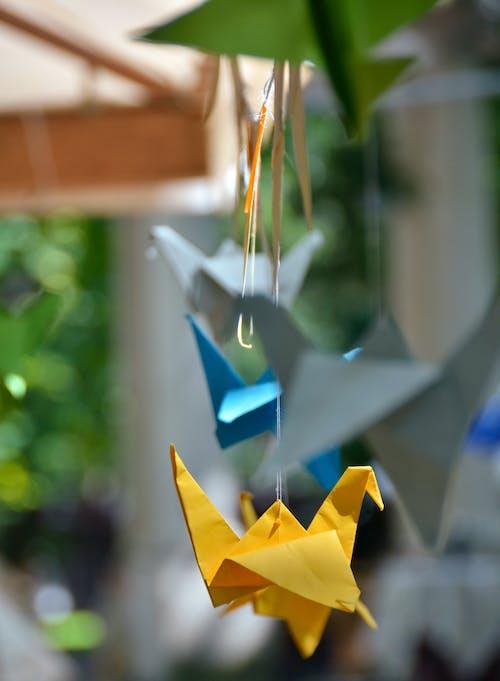 คลังภาพถ่ายฟรี ของ orizuru, กระดาษ, กลางแจ้ง