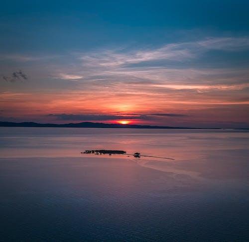 Free stock photo of beach island, sunrise