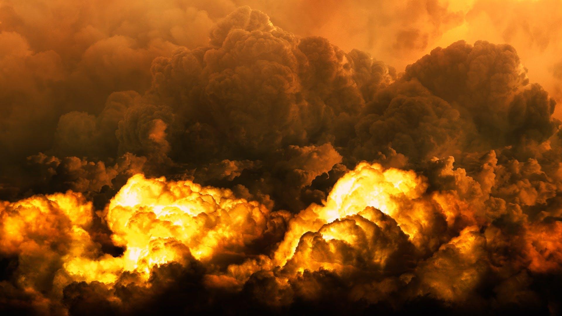 Explosion Smoke