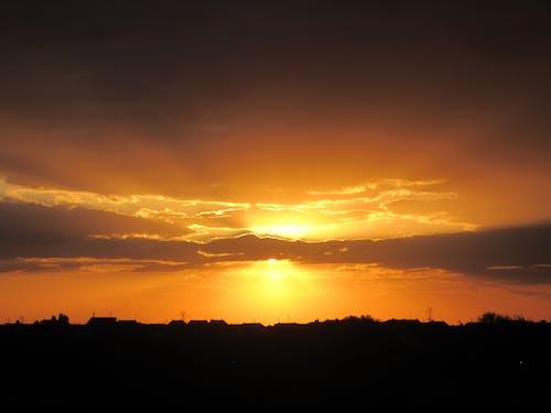 Darmowe zdjęcie z galerii z chmury, ciemny, drzewa, horyzont