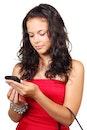 woman, smartphone, girl