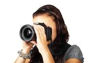 woman, camera, photographer