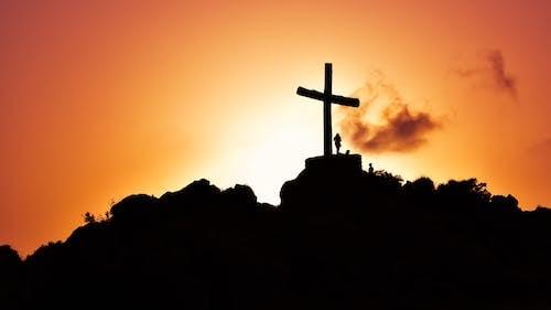 キリスト教, クロス, シルエット, スピリチュアルの無料の写真素材