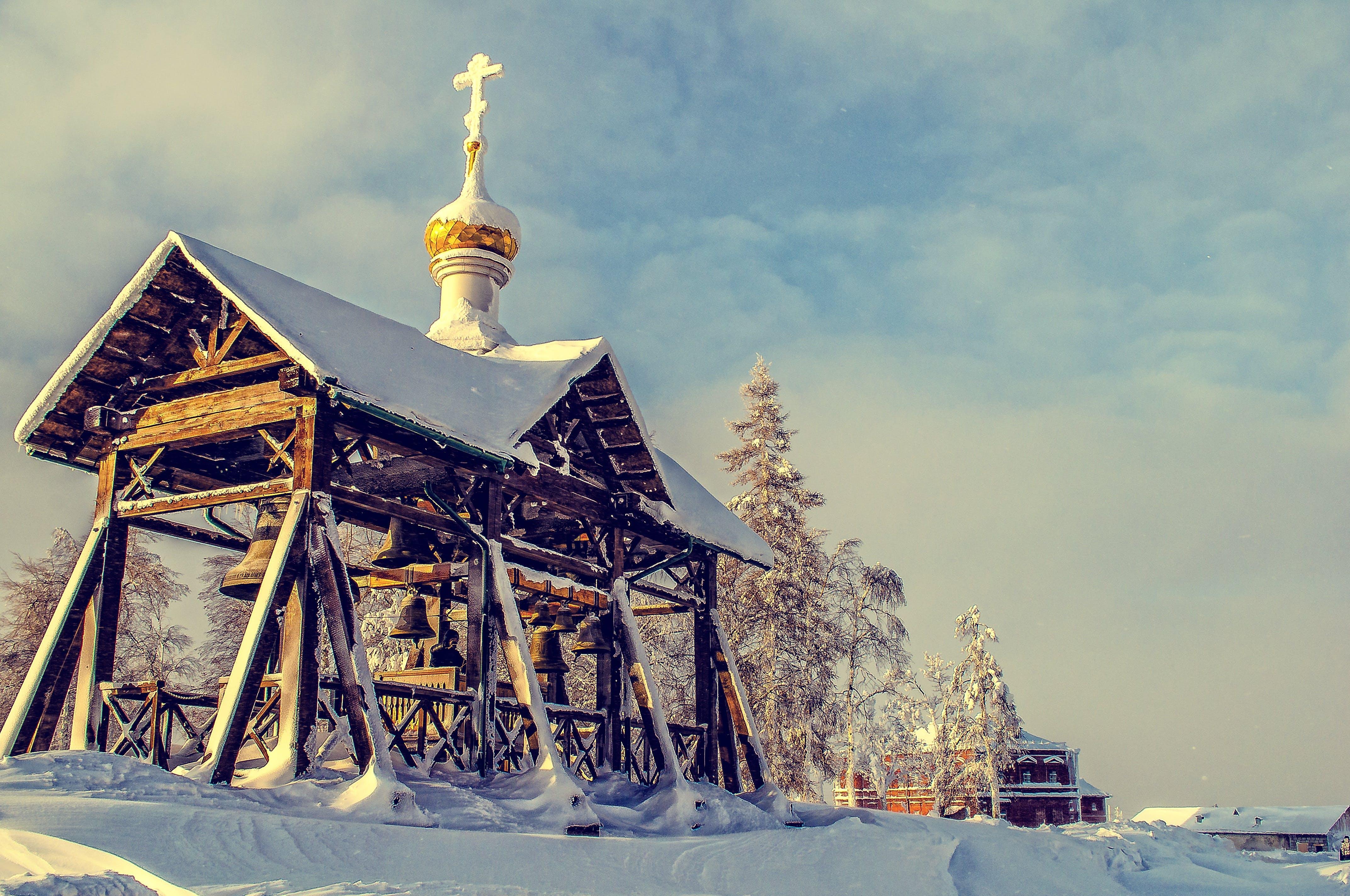 architecture, bells, building