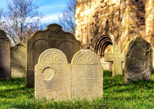 Gratis stockfoto met begraafplaats, daglicht, graf, gras