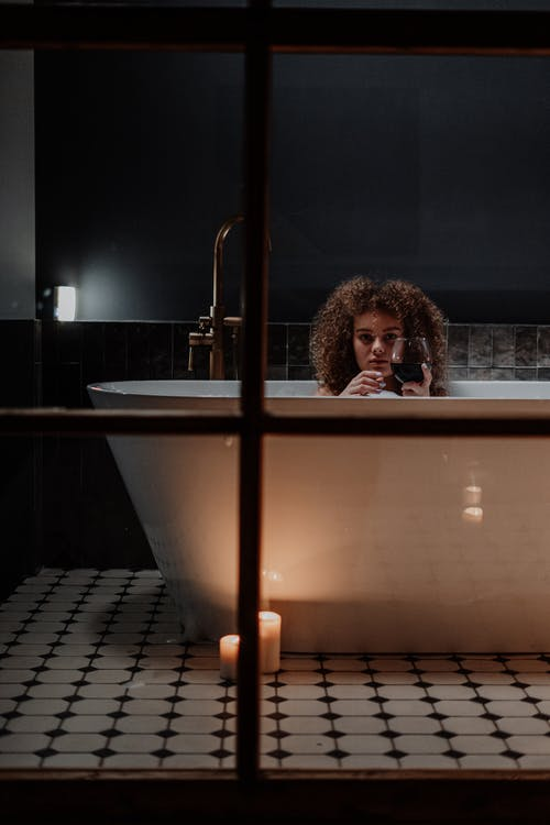 거품, 곱슬거리는, 곱슬머리, 목욕의 무료 스톡 사진