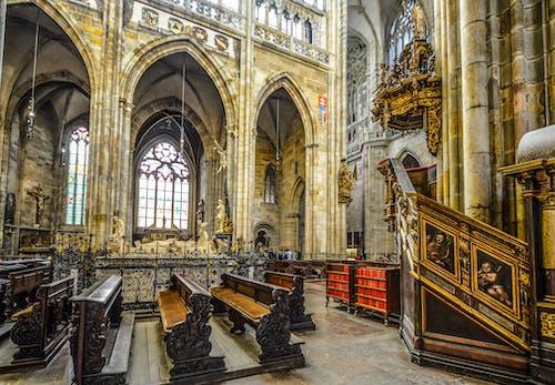 內部, 壇, 大教堂, 室內 的 免费素材照片