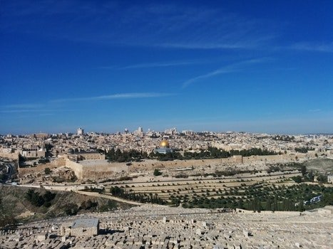 Free stock photo of jerusalem, the mount of olives, the esplanade of the temple, the dome of the rock