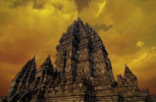 古老的, 天空, 宗教, 寺廟 的 免费素材照片