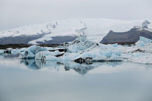 Antartik, buz, buz dağı içeren Ücretsiz stok fotoğraf
