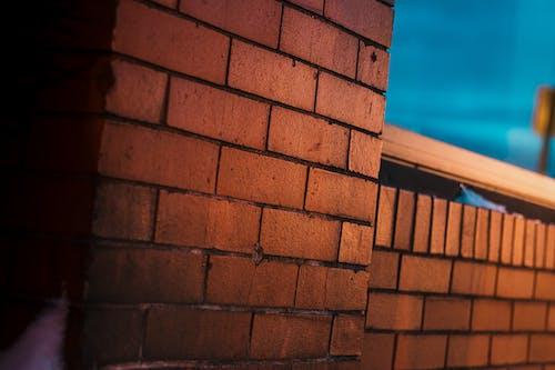 Základová fotografie zdarma na téma architektonické detaily, červené cihly, cihlová struktura