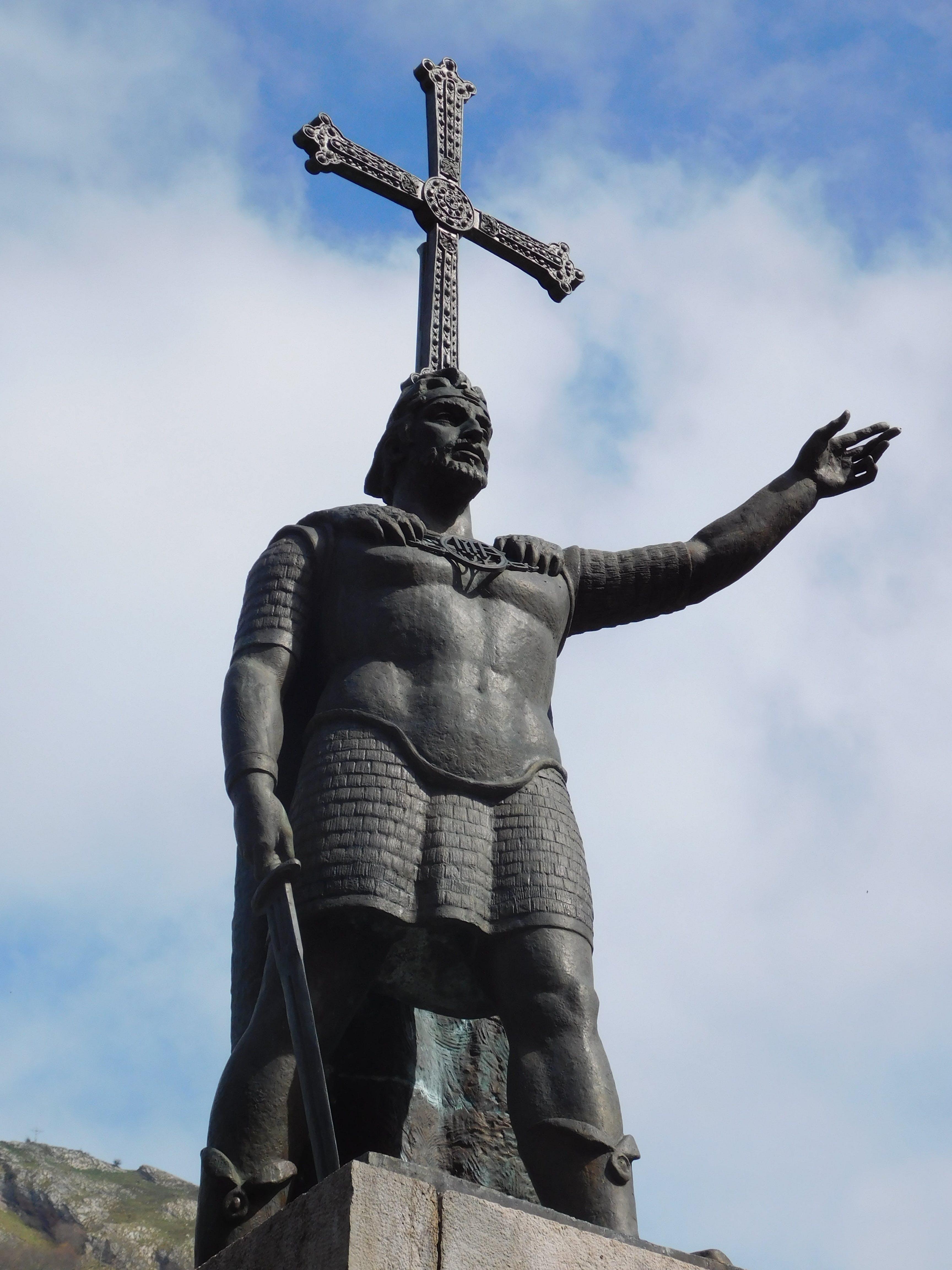 Free stock photo of man, landmark, architecture, statue