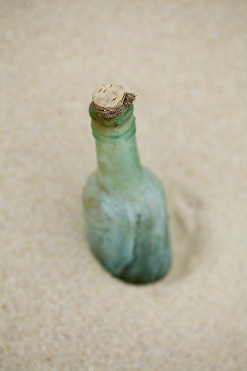 Δωρεάν στοκ φωτογραφιών με άμμος, μήνυμα, μήνυμα σε μπουκάλι, μπουκάλι
