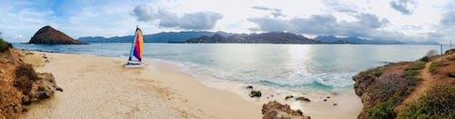 Δωρεάν στοκ φωτογραφιών με ιστιοφόρο, νησί, νήσος, πανόραμα
