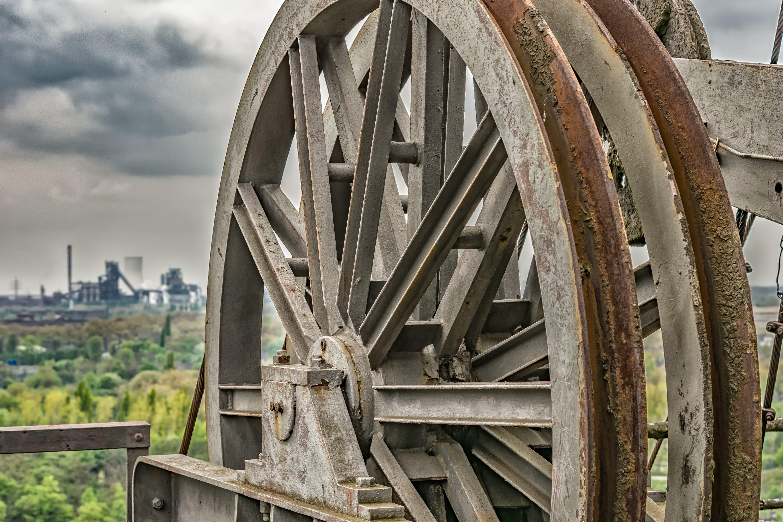 Gray Steel Wheel