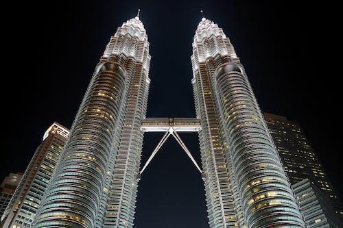 Ingyenes stockfotó acél, alacsony szögű felvétel, Ázsia, belváros témában
