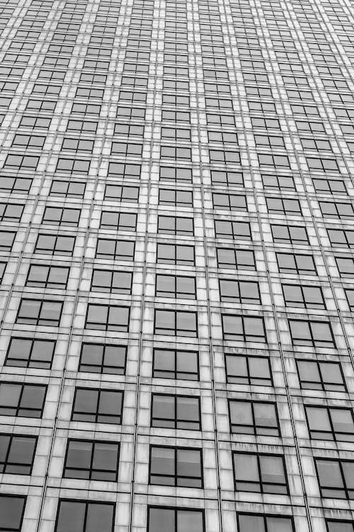 Grau Gestrichenes Gebäude